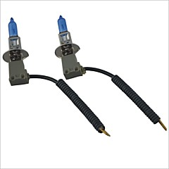 abordables Luces Halógenas y HID-H1 Coche Bombillas 100W Luz de Casco / Luz Antiniebla