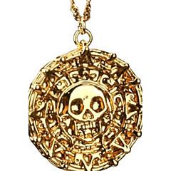 Férfi Nyaklánc medálok Skull shape Ötvözet jelmez ékszerek Ékszerek Kompatibilitás Parti Napi Hétköznapi Karácsonyi ajándékok
