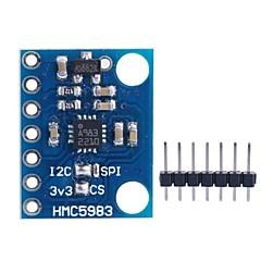 GY-282 HMC5983 모듈 높은 정확한 삼축 자기 전자 나침반 모듈