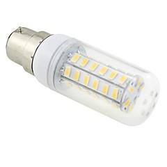 お買い得  LED 電球-6W 3000-3500 lm B22 LEDコーン型電球 T 48 LEDの SMD 5730 温白色 AC 220-240V