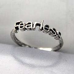 Gyűrűk Parti / Napi / Hétköznapi Ékszerek Ötvözet Női Karikagyűrűk7 Aranyozott / Ezüst