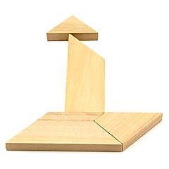 T Wooden Puzzle Rompecabezas IQ juguete