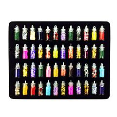 48PCS MiXs Stílus Nail Art dekoráció Suit
