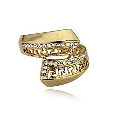 Gyűrűk Esküvő / Parti / Napi Ékszerek Arannyal bevont Karikagyűrűk7 / 8 / 10 / 9½ Aranyozott