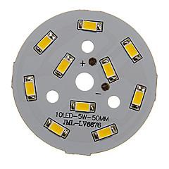voordelige LED's-5W 400-450LM Warm Wit Licht 5730SMD geïntegreerde LED-module (15-18V)