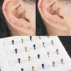 Damskie Biżuteria Piercing ucha biżuteria kostiumowa Stal nierdzewna Biżuteria Na Codzienny Casual