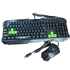Sunway veados ® SWL-093 Keyboard and Mouse Gaming