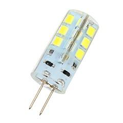 preiswerte LED-Birnen-180 lm G4 LED Doppel-Pin Leuchten 24 LED-Perlen SMD 2835 Kühles Weiß 12 V / # / ASTM / RoHs