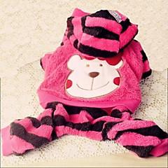 お買い得  犬用ウェア&アクセサリー-犬用品 パンツ ピンク / イエロー 犬用ウェア 冬 アニマル / 漫画