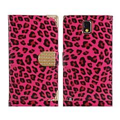 Недорогие Чехлы и кейсы для Galaxy Note 3-леопардовый искусственная кожа&сплав флип чехол для Samsung Galaxy Note 3 N9000 n9002 (разные цвета)