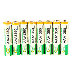 High Quality 1350Mah Bty Ni-Mh Aaa 1.3V Rechargeable Battery 8Pcs