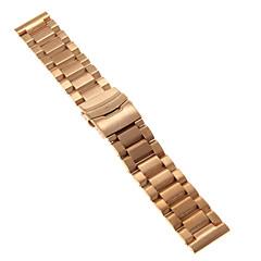 preiswerte Herrenuhren-Herren Damen Uhrenarmbänder Edelstahl #(0.09) #(24 x 2.4 x 0.3) Uhren Zubehör