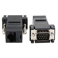 お買い得  VGA-yongwei高速vga男性rj45アダプター高品質、耐久性