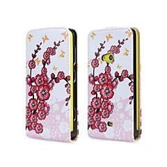 voordelige Hoesjes / covers voor Nokia-Voor Nokia hoesje Flip hoesje Volledige behuizing hoesje Boom Hard PU-leer Nokia Nokia Lumia 625