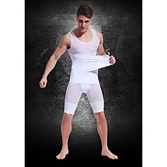 buik vetverbranding lichaam beeldhouwen kleding top maat sterke lichtgewicht ademend mesh gordel mensen wit