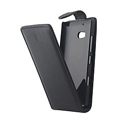 Недорогие Чехлы и кейсы для Nokia-Кейс для Назначение Nokia Nokia Lumia 930 Кейс для Nokia Флип Чехол Сплошной цвет Твердый Кожа PU для