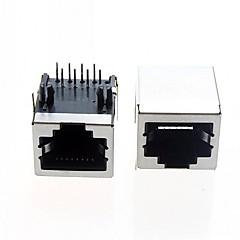 abordables Clavijas y Enchufes Eléctricos-rj interfaz de cable ethernet interfaz de red rj45 general (5 x)