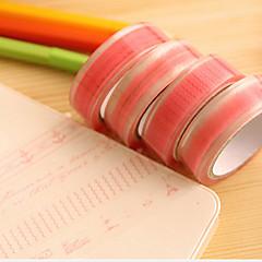 halpa Leikekirja-tarvikkeet-vaaleanpunainen pitsi kuvio scrapbooking liimat teippi 10m 1 kpl