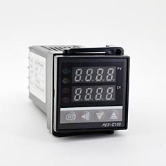 "1.2 ""LED 100-240V 렉스-C100 K 형 온도 제어 + 열전대"