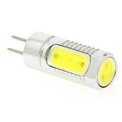 お買い得  LED 電球-3W 6500lm LED2本ピン電球 T 4pcs LEDビーズ COB クールホワイト 24V 12V