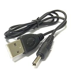 0.7m USB 2.0 3,5 mm tynnyri liitin jack tasavirtakaapeli