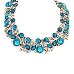 preiswerte Halsketten-Damen Anhängerketten Statement Ketten - Europäisch Schwarz, Blau, Regenbogen Modische Halsketten Schmuck Für