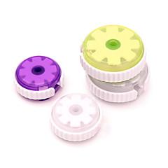 お買い得  ケーブル・オーガナイザー-丸い形状のイヤホンケーブルワイヤコードオーガナイザーケーブルワインダー - 小さいサイズ(5.5センチメートル)