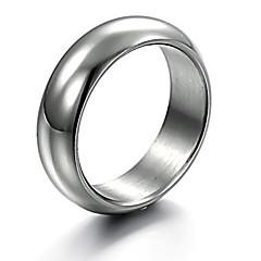 お買い得  指輪-男性用 バンドリング  -  ファッション リング 用途 クリスマスギフト / パーティー / 日常