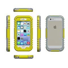 Для Кейс для iPhone 6 / Кейс для iPhone 6 Plus Водонепроницаемый Кейс для Чехол Кейс для Один цвет Мягкий TPUiPhone 7 Plus / iPhone 7 /