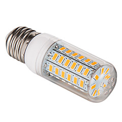 5W E26/E27 Ampoules Maïs LED T 56 diodes électroluminescentes SMD 5730 Blanc Chaud Blanc Froid 450lm 3000-3500K AC 100-240V