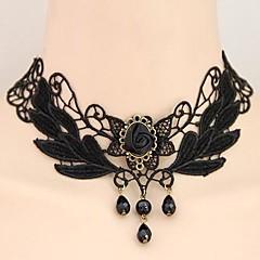 Γυναικεία Κολιέ Τσόκερ Κρεμαστά Κολιέ Flower Shape Κρεμαστό Δαντέλα Κράμα Κομψή κοστούμι κοστουμιών Πεπαλαιωμένο Ευρωπαϊκό Κοσμήματα Για