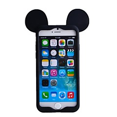 cheap iPhone Cases-Mouse Ear Soft Silicon Soft Case for iPhone 6/6S iPhone Cases