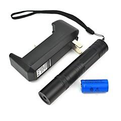 lt-850 justerbar fokus bränner lättare skär röd laserpekare kit (3 mW, 650 nm, 1xcr16340)