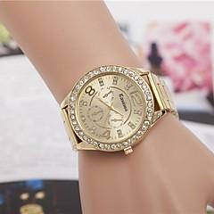 preiswerte Damenuhren-Damen Armbanduhr Legierung Band Glanz / Modisch Silber / Gold / Rotgold / Ein Jahr / Jinli 377