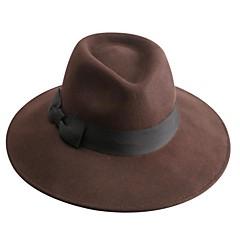 Недорогие Женские украшения-роскошный шерсти дамы партия / открытый / случайный шляпа (больше цвета)