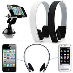 stereo trådløse bluetooth hovedtelefoner øretelefon headset til iPhone 6 / 6plus / 5 / 5s / 4 / 4S Samsung htc LG sony xiao mi