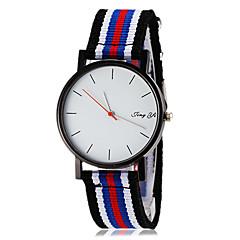お買い得  メンズ腕時計-男性用 リストウォッチ ホット販売 生地 バンド ミニマリスト 多色