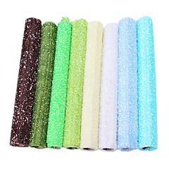3.6m * 0.5m punto de nieve de color papel de regalo de gasa embalaje gasa pura
