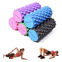 رغوة الأسطوانة تدليك بيلاتيس اليوغا اللياقة البدنية العضلات الاسترخاء لتدليك الأنسجة العميقة ونقطة الزناد
