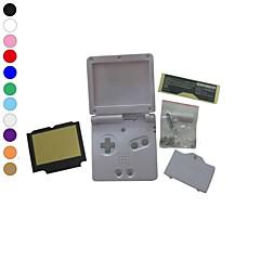 halpa Nintendo DS -tarvikkeet-koko kotelo kotelo kansi korvaaminen Nintendo GBA SP gameboy etukäteen sp