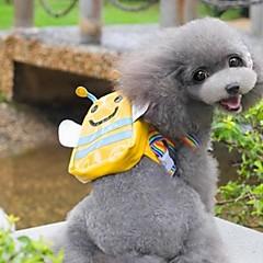 abordables Accesorios y Ropa para Perros-Gato Perro mochila Ropa para Perro Cosplay A Prueba de Agua Boda Animal Amarillo Disfraz Para mascotas