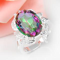 voordelige Ringen-Dames Statementringen Kostuum juwelen Verzilverd Sieraden Voor Bruiloft Feest Dagelijks Causaal Sport