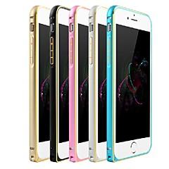 Для Кейс для iPhone 6 / Кейс для iPhone 6 Plus Ультратонкий Кейс для Бампер Кейс для Один цвет Твердый МеталлiPhone 6s Plus/6 Plus /