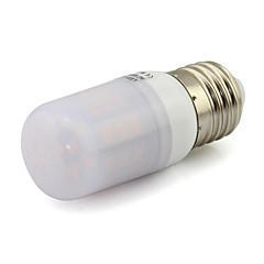 economico Lampadine LED-2W 80-120 lm E26/E27 LED a pannocchia T 27 leds SMD 5730 Decorativo Bianco caldo Luce fredda DC 12V