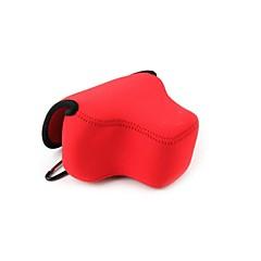 hesapli -Canon PowerShot SX60 hs için dengpin® neopren yumuşak taşıma kamera koruyucu kılıf çantası çantası (çeşitli renklerde)