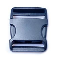 poggyász szíj övcsipesz műanyag oldalsó kioldó csatok 50mm fekete (1db csomag)