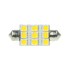 cheap LED Car Bulbs-Festoon Car White 3W SMD LED 3000-3500 Reading Light License Plate Light Side Marker Light Door lamp Spotlight High Output