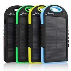 お買い得  モバイルバッテリー-用途 パワーバンク外付けバッテリ 5 V 用途 # 用途 バッテリーチャージャー 防水 / 太陽光充電 LED