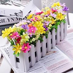 Филиал Полиэстер Пластик Ромашки Букеты на стол Искусственные Цветы