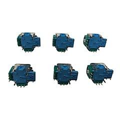 お買い得  Xbox One用修理部品-MICROSOFT XBOX 1ワイヤレスコントローラ用の6×高品質のアナログスティックスイッチ
